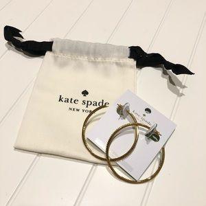 KATE SPADE Gold Hoops